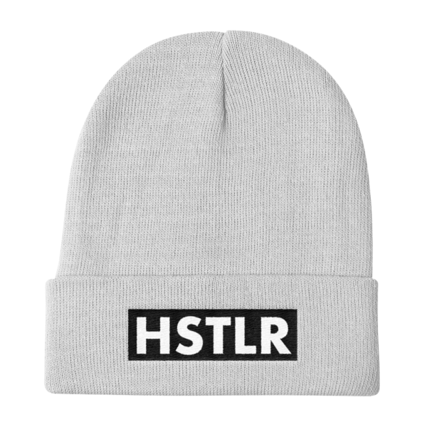 2d40a3d29e3 Hstlr Wear Knit Beanie White - HSTLR® Wear