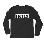 reflections of a hstlr longsleeve tee black