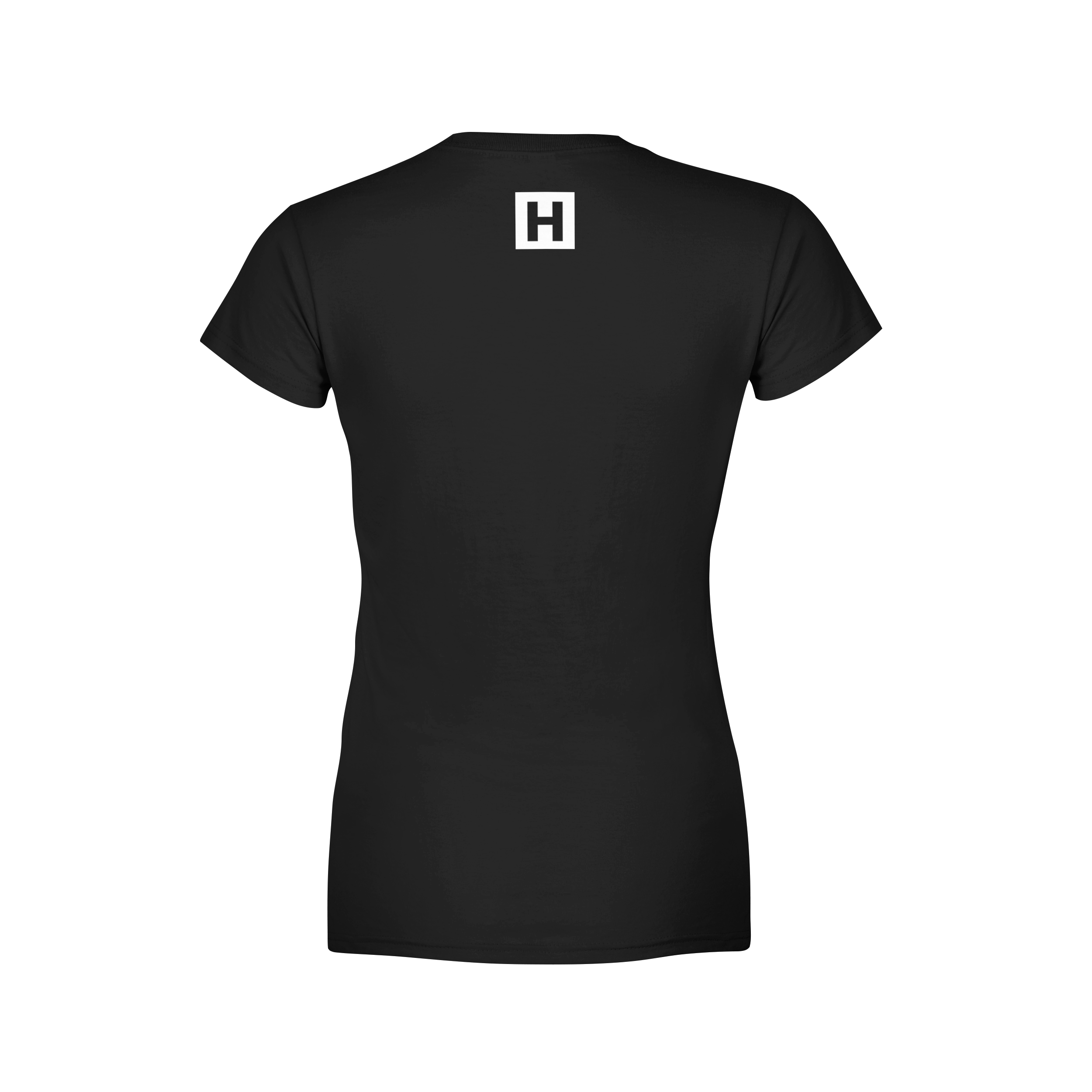 Le hustle women 39 s tee shirt black hstlr wear for Womens black tee shirt
