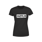 reflections of a hstlr women's tee black