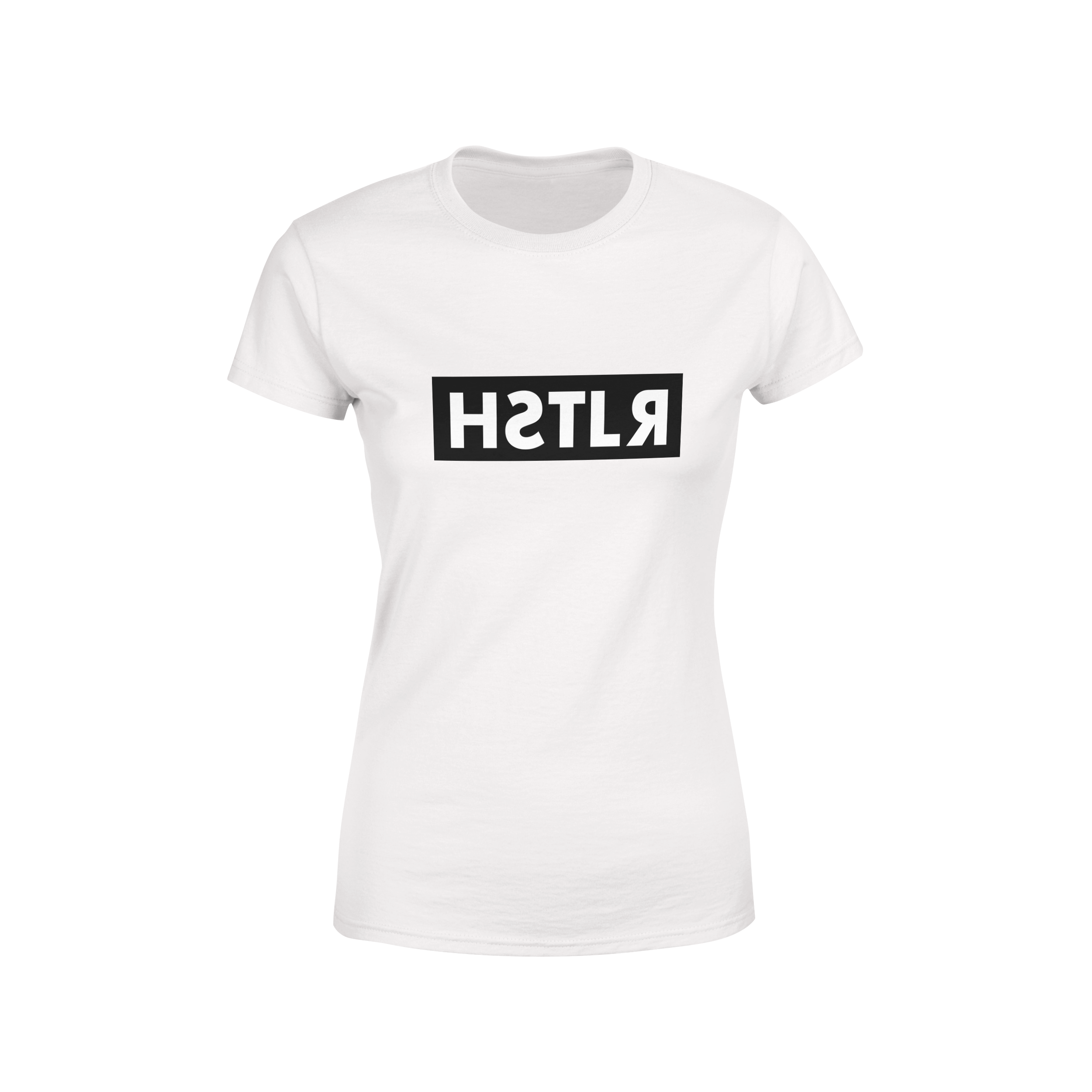 reflections of a hstlr women's tee white