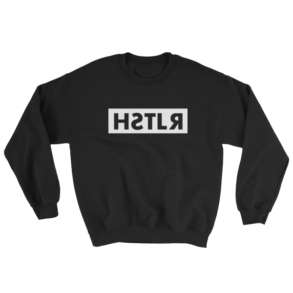 reflections of a hstlr sweatshirt black
