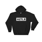 reflections of a hstlr black hoodie