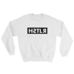 reflections of a hstlr sweatshirt white